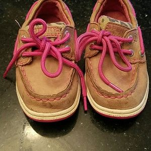 Sperry Shoes - Pink and cheetah Tan  Sperry Top-sider